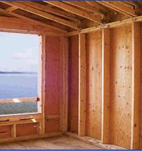 Constru o de habita es em madeira for What insulation to use in 2x6 walls