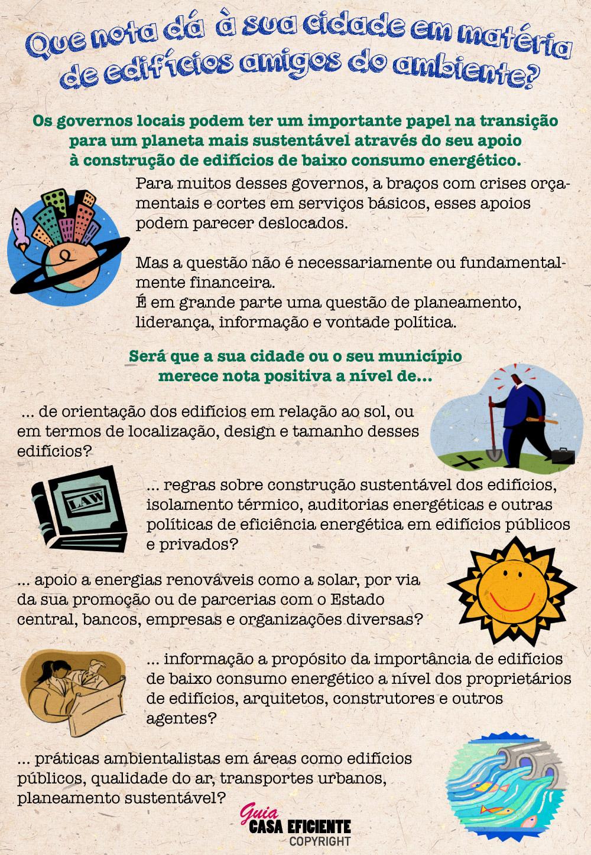 Casas, escolas e construção sustentável