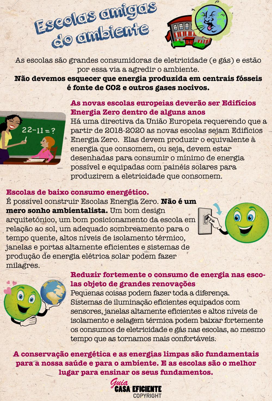 Escolas sustentabilidade ambiente